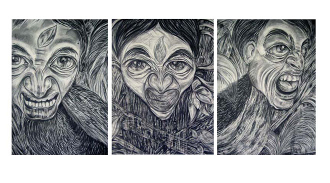 Mybrids-Triptych
